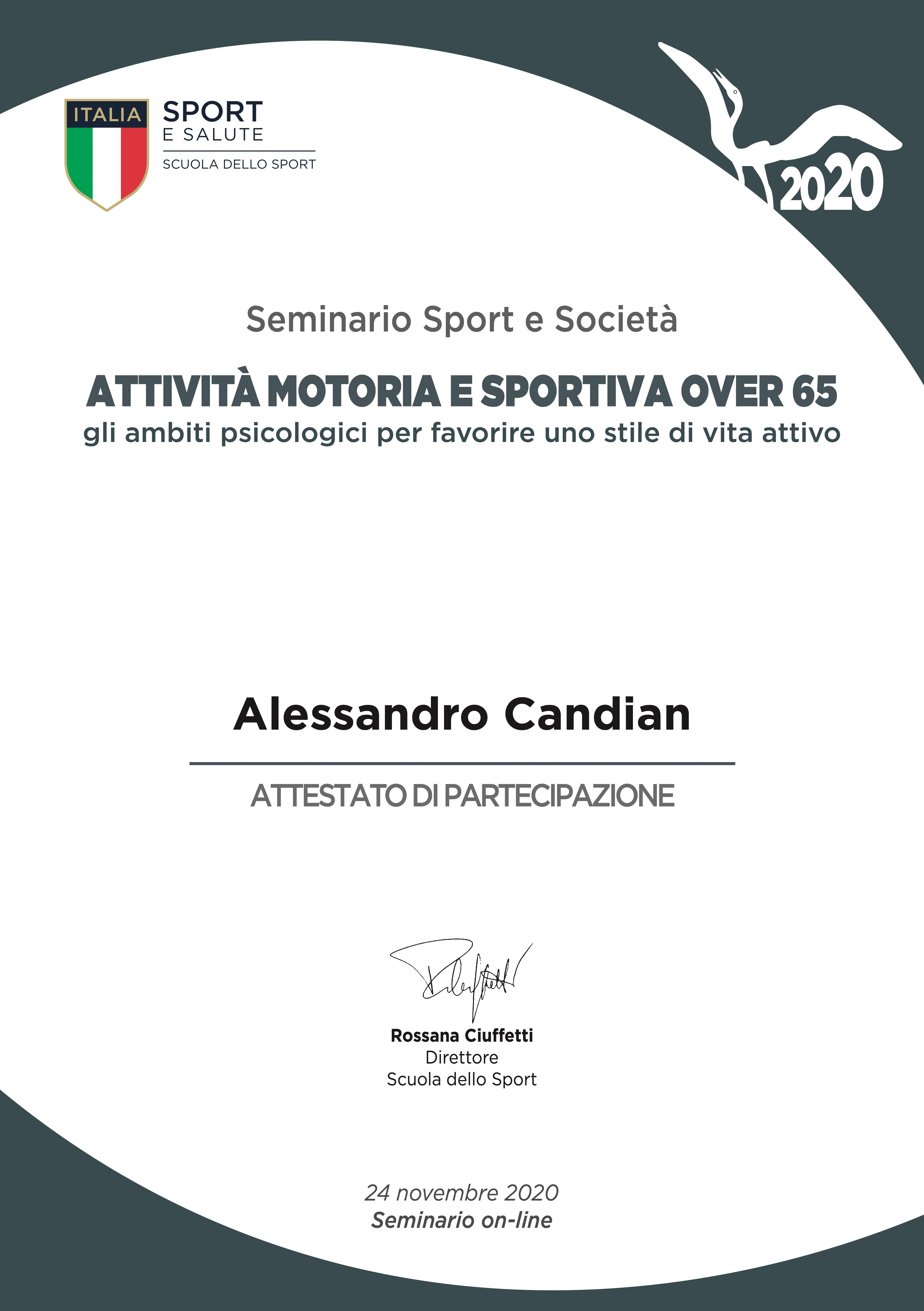 Over65 Alessandro Candian